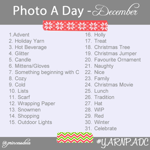 Photo A Day Challenge - Dec