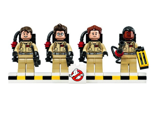 Official LEGO Ghostbusters minifigs