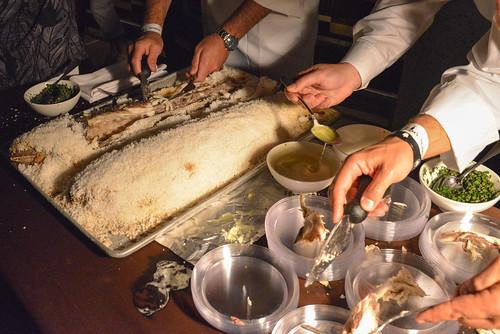 Estiatorio Milos salt-roasted milokopi fish