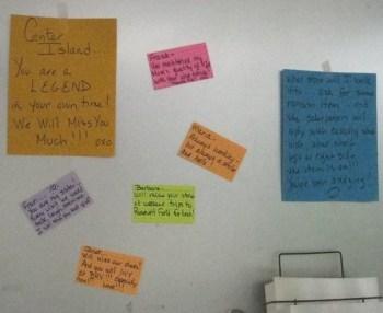 Good-bye notes: Center Island Pharmacy