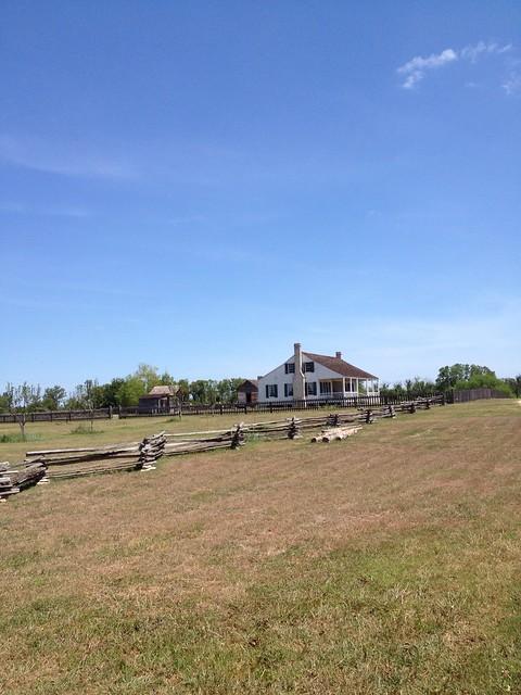 farm house at Barrington Farm