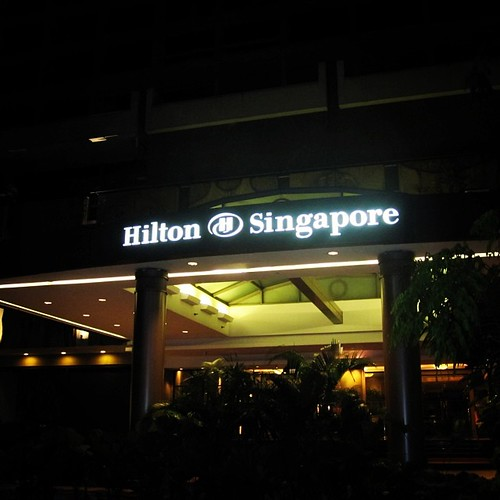 Hilton #singapore by @MySoDotCom