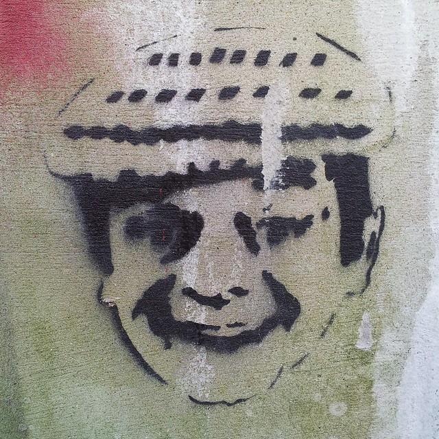 Rodney you plonker stencil