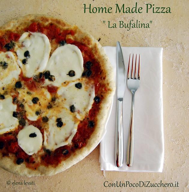 Home made pizza Bufala