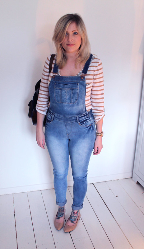 Duo Boots and dungarees