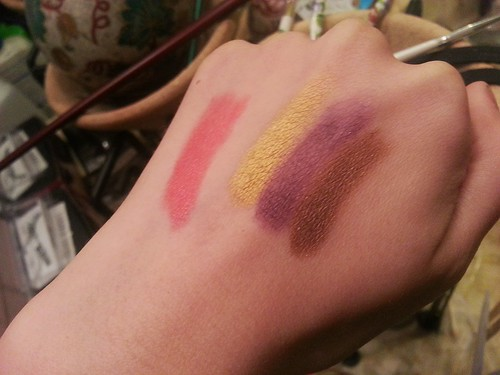 July Ipsy Bag Swatches