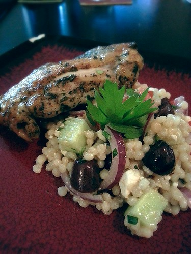 Chicken with mediterranean couscous salad by pipsyq