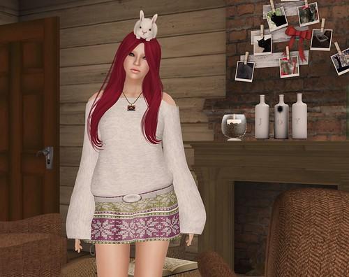 Eyelure new sweater dress