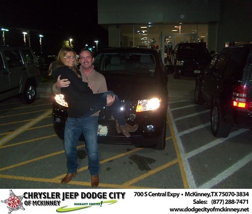 Happy Anniversary to Henry Hughes on your 2012 #Jeep #Grand Cherokee from Ricky Hutto  and everyone at Dodge City of McKinney! #Anniversary by Dodge City McKinney Texas