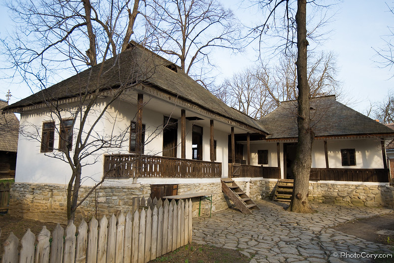 household in the village museum romania bucharest