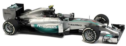 Minichamps Mercedes AMG F1 Petronas 2014