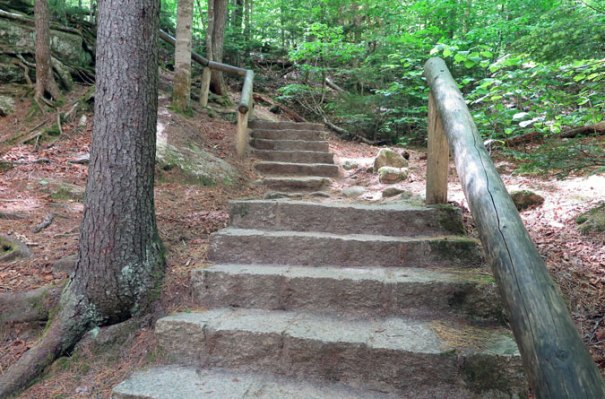 Sabbaday Falls Steps