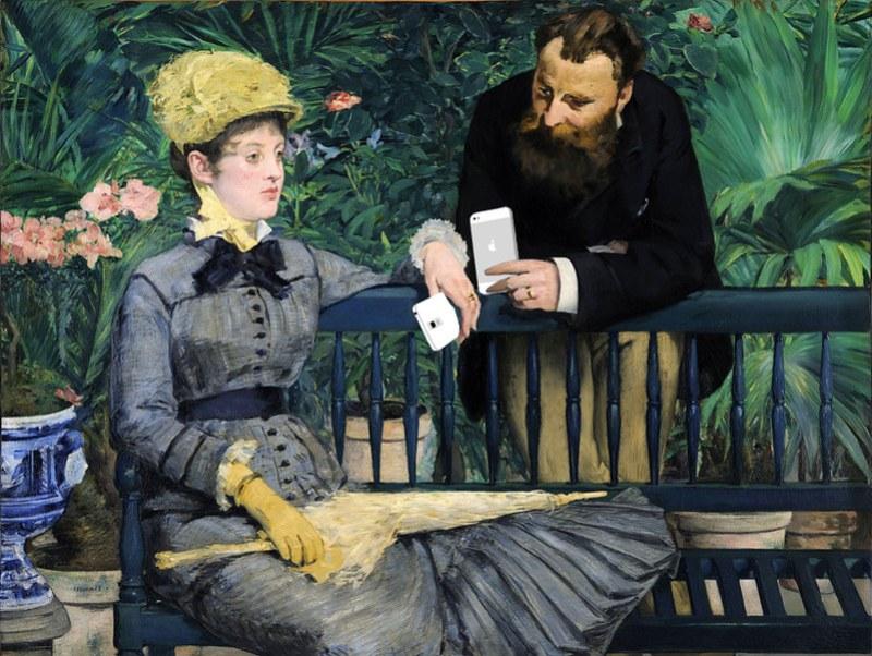 Édouard Manet Conversation
