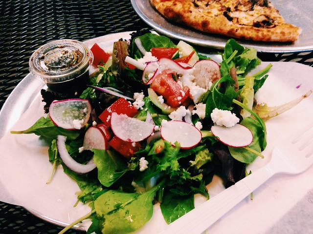 Pure Pizza Salad