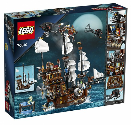 The LEGO Movie 70810 MetalBeard's Sea Cow box 2