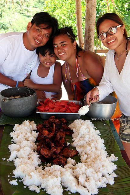 Food trip in Calaguas Island