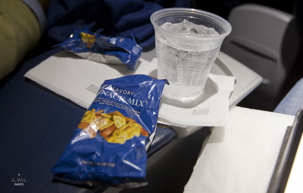 Inflight Snack Mix and Sprite