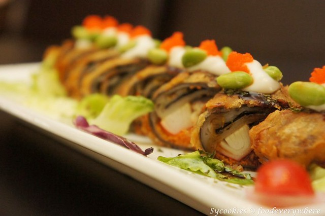 7.California Unagi Rice Noodle Roll-