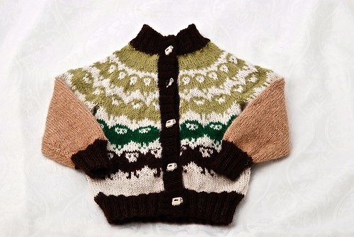 Sheep cardigan