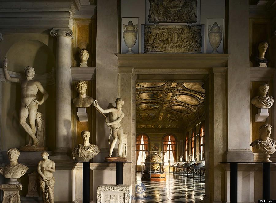 The Biblioteca Marciana in Venice, Italy