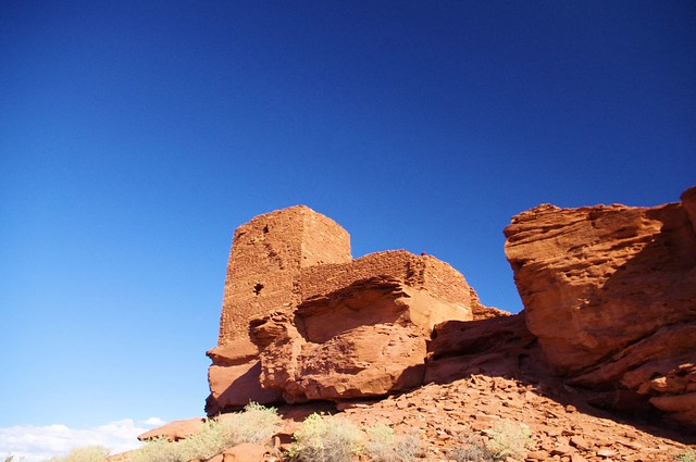 Wukoki Pueblo Ruin, Wupatki National Monument, north-central Arizona, near Flagstaff, October 6, 2011