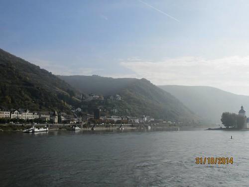 Rhine River Gorge