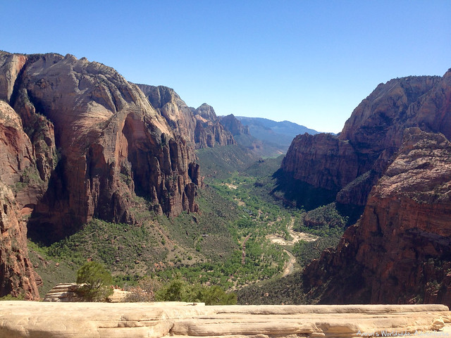 View from the Top of Angels Landing