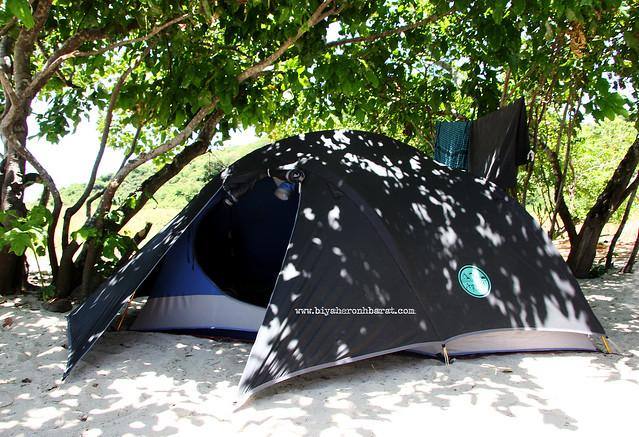 Apexus Tent in Calaguas