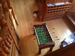 table football, summer camp