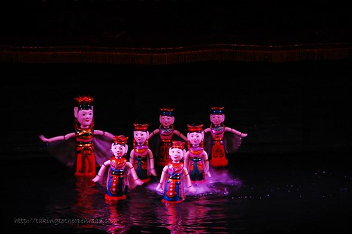 3 days in Hanoi: Water puppets
