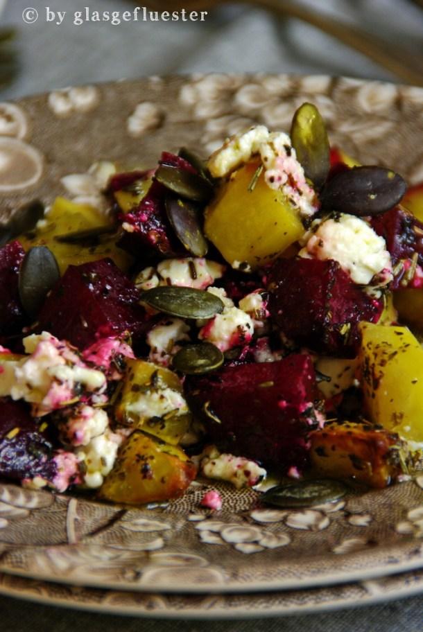 Ofenkartoffeln und Rote Bete by Glasgeflüster 2 klein