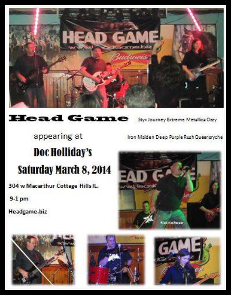 Head Game 3-8-14