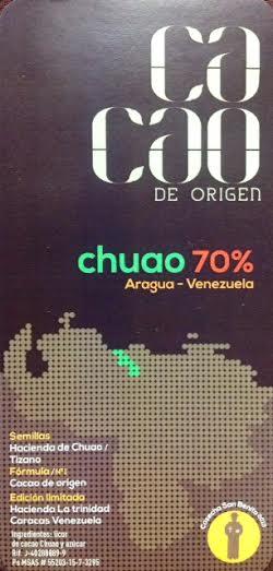 CHUAO DE CACAO DE ORIGEN