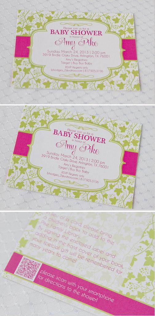 baby shower vine composite