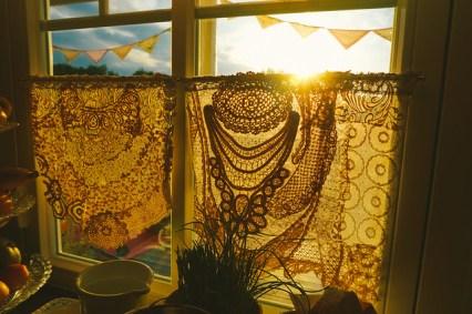 Vintage Lace Curtain