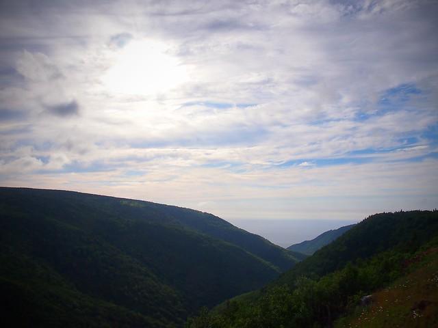 Cape Breton Plateau View