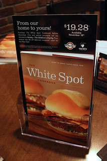 The new White Spot Cookbook