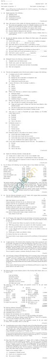 CS Foundation Question Papers Jun 2013 - Financial Accounting