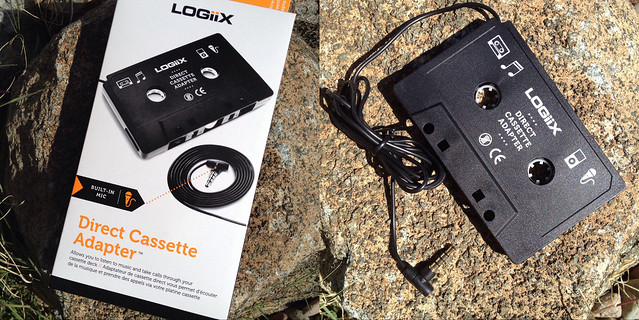 Direct Cassette Adapter with Mic