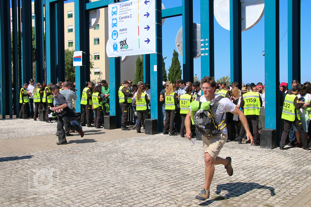 Chegada dos festivaleiros - Rock In Rio Lisboa