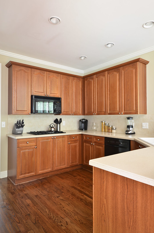 Painted Kitchen Cabinets Before and After | To Newlywedism ...