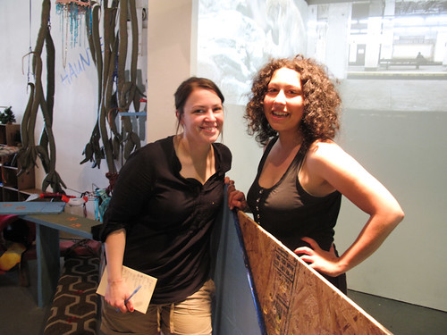 Alicia Mary Wilson of For Animals & Christina Vassallo of Flux Factory