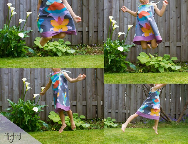 rainbow butterfly dress