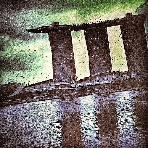 My Fav building Marina Bay Sands #singapore by @MySoDotCom