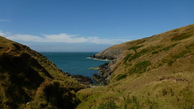 Lleyn Peninsula, Mynydd Mawr, Porth Llanllawen, Welsh Coastal Path