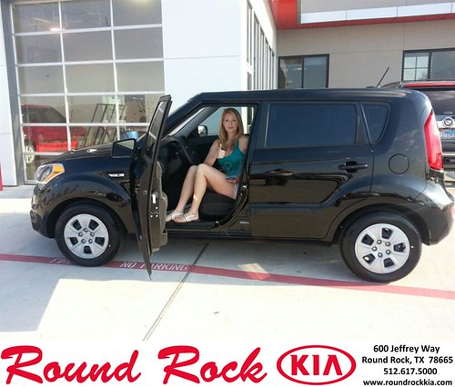 Thank you to Lindsey Johnsen on your new 2013 Kia Soul from Tom Ramirez and everyone at Round Rock Kia!! by RoundRockKia