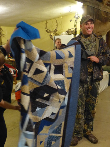 Quilts of Valor at Buckhaven Learning Center