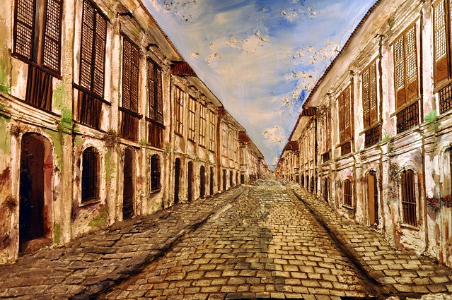 Vigan in Paint