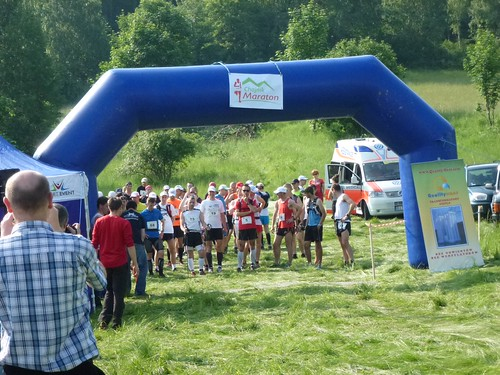 Start Maratonu Chojnik by Polek