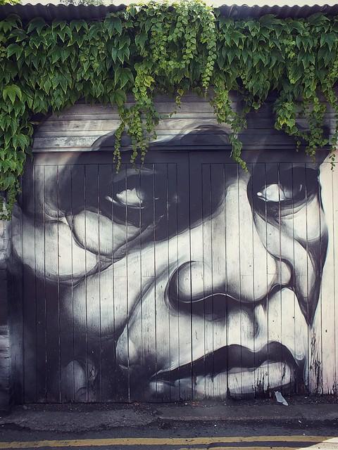 Street art and graffiti around Cathays, Cardiff